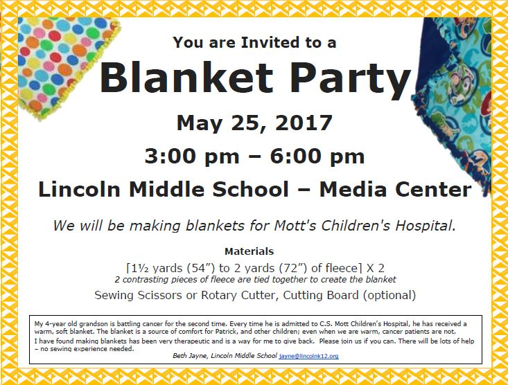 Information about Blanket Party