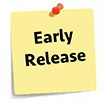 Early Release Note