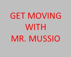 Mr. Mussio, our fantastic Physical Education teacher, has a video for you with tons of tips on how to stay active at home.