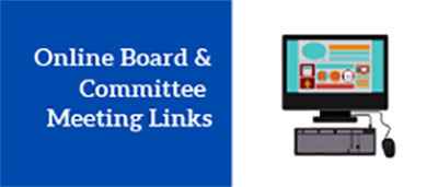 Online Board and Committee Meeting Links